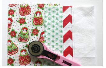 Candy Stripe Christmas Table Runner 2
