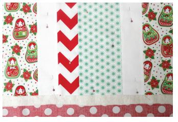 Candy Stripe Christmas Table Runner 4