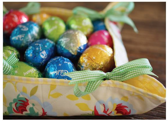 Easter Fabric Baskets 1