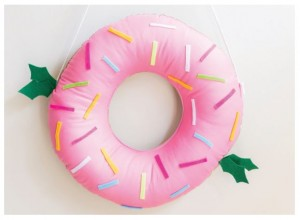 Festitive Donut Wreath 2