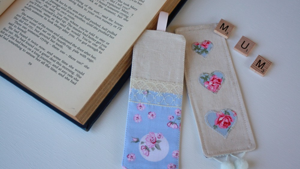 Handmade Kids - Sew a Fabric Bookmark