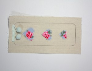 Handmade Kids - Sew a Fabric Bookmark 3