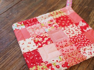 quilted pot holder 1